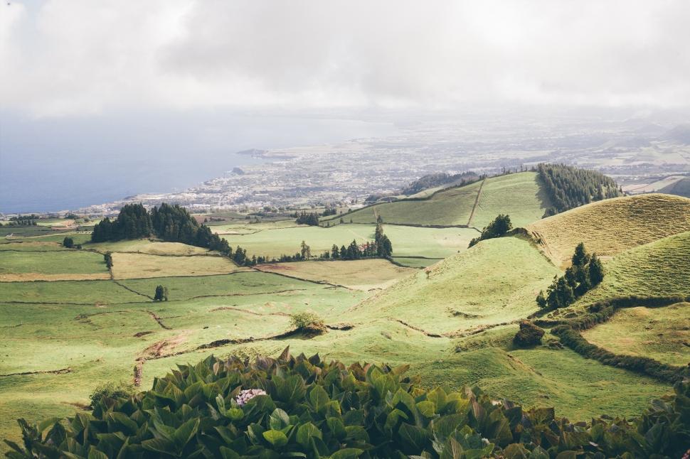 Campos verdes, Açores