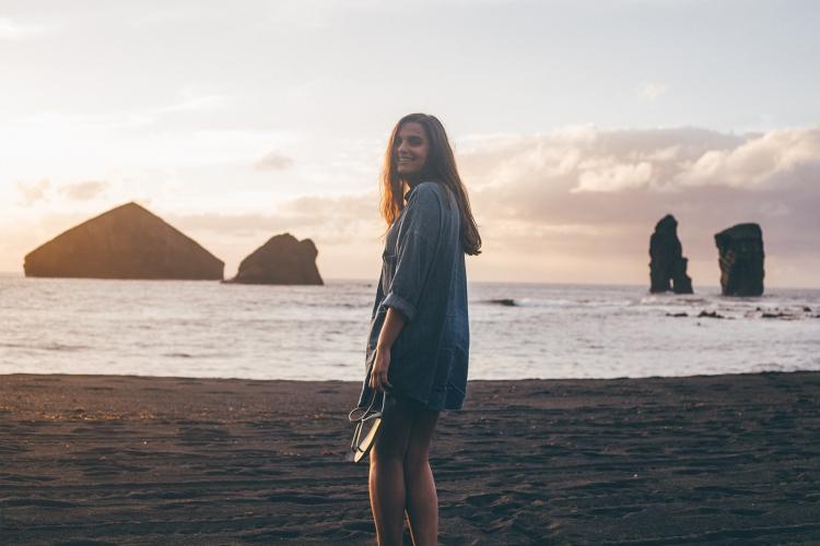 Filipa, Praia dos Mosteiros, Açores