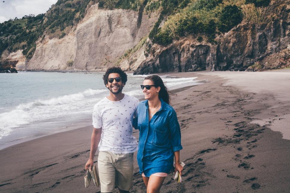 Guilherme e Filipa, Praia da Ribeira Quente, Açores