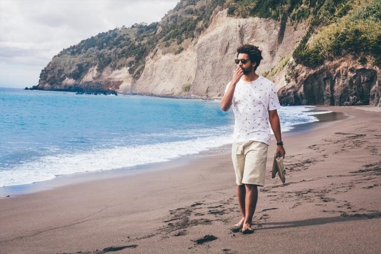 Guilherme, Praia da Ribeira Quente, Açores
