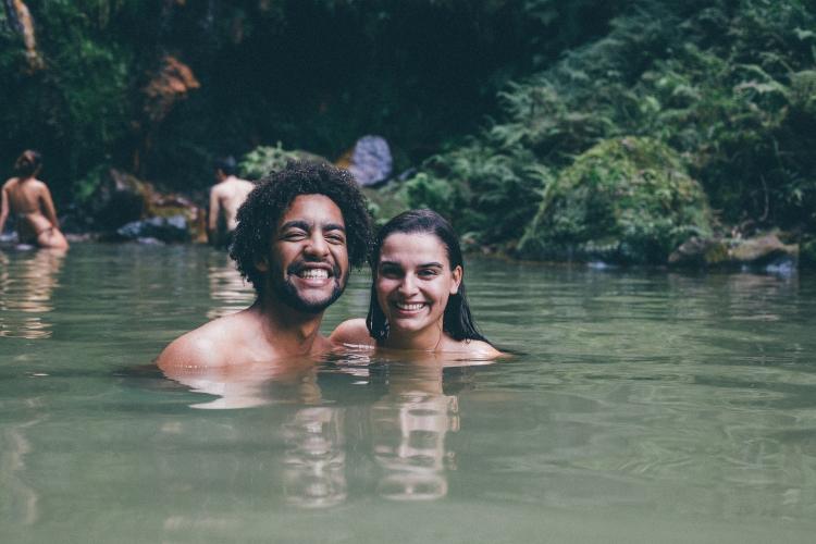 Filipa e Guilherme, Caldeira Velha, Açores
