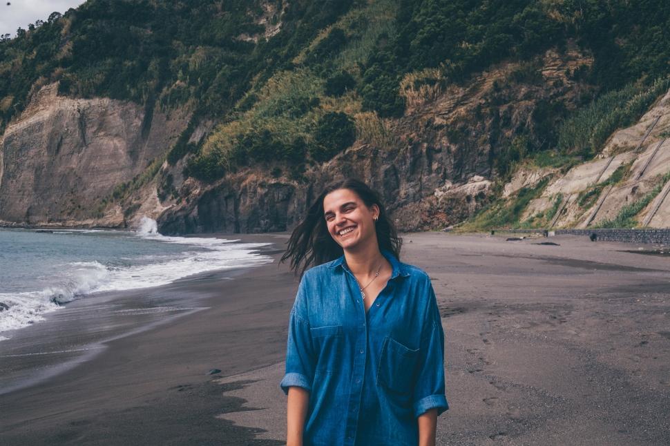Filipa, Praia da Ribeira Quente, Açores