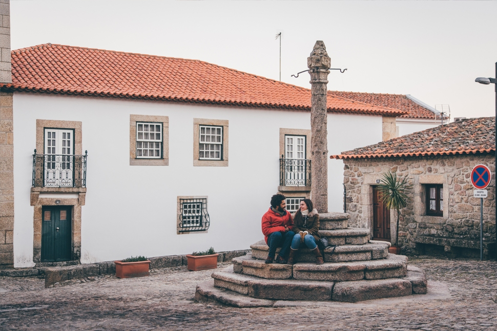 Filipa e Guilherme na Serra da Estrela
