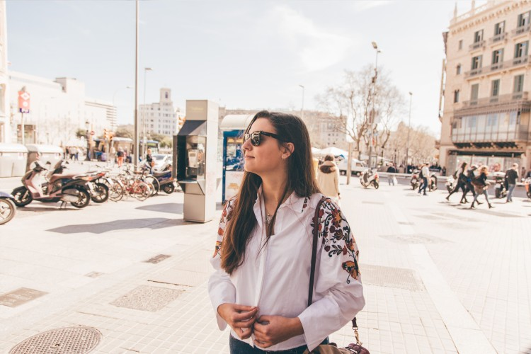 Filipa, Passeio da Grácia, Barcelona