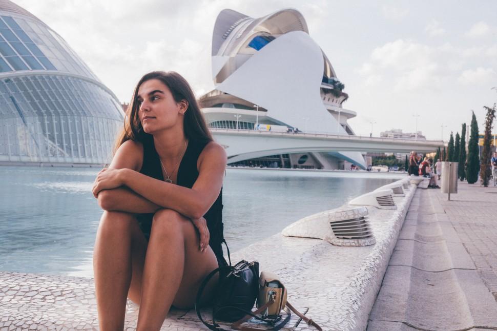 Filipa na Cidade das Artes, Valência