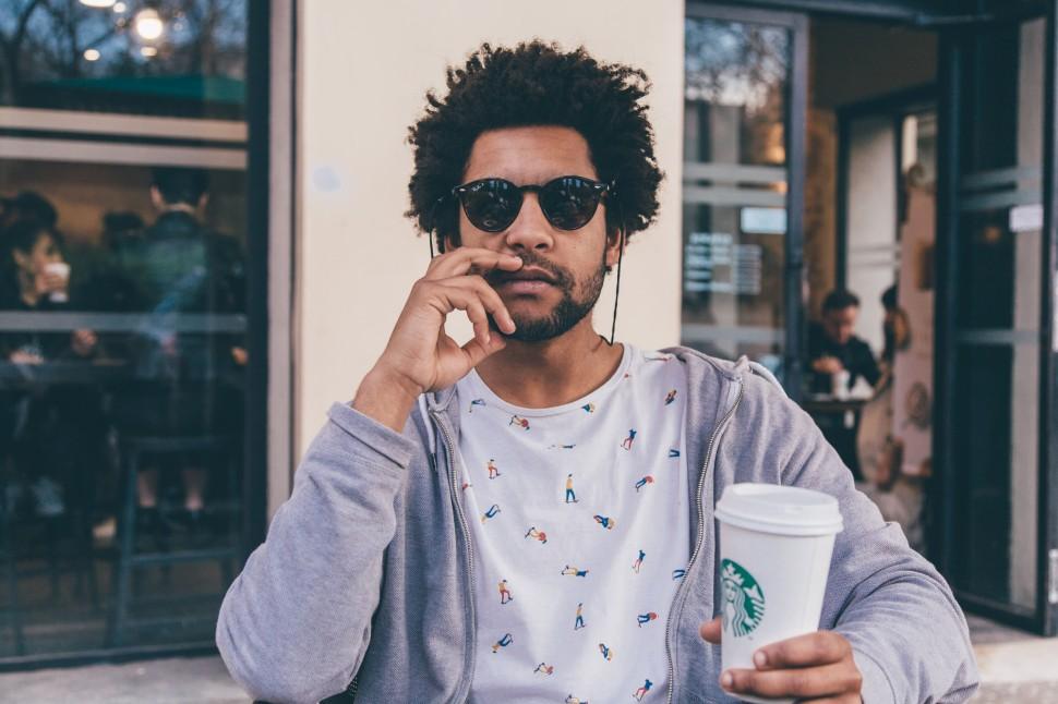Guilherme, Starbucks em Barcelona