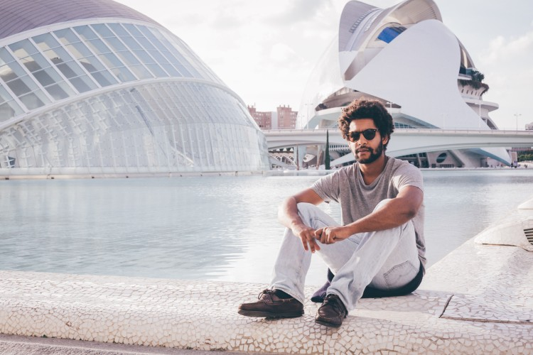 Guilherme na Cidade das Artes, Valência