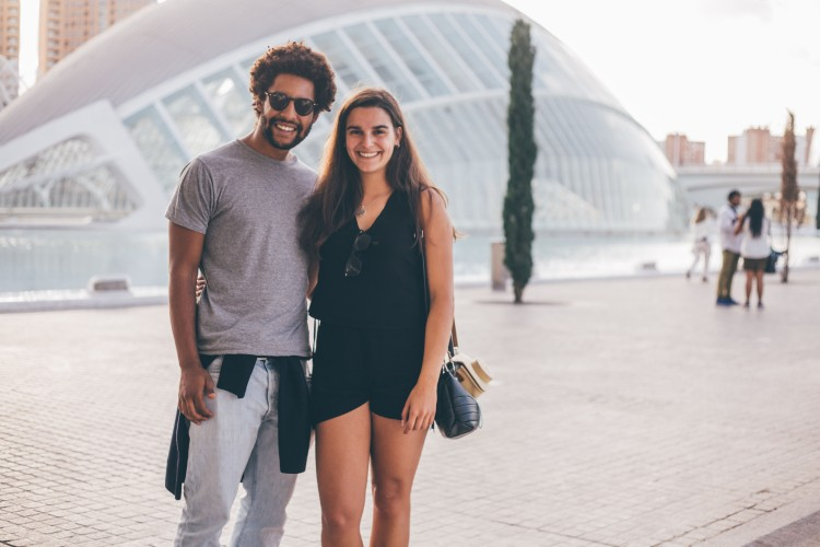 Guilherme e Filipa na Cidade das Artes, Valência