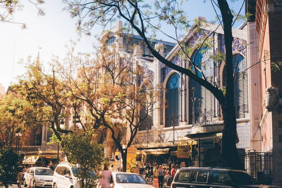 Mercado da cidade de Valência