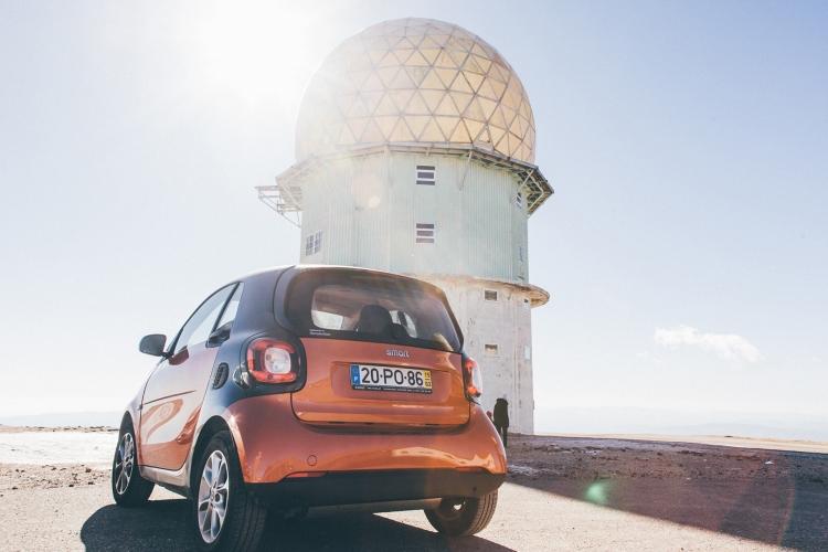 Smart Fortwo, Serra da Estrela - Torre