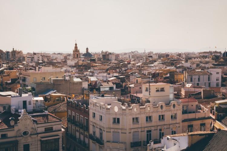 Panorâmica da cidade de Valência