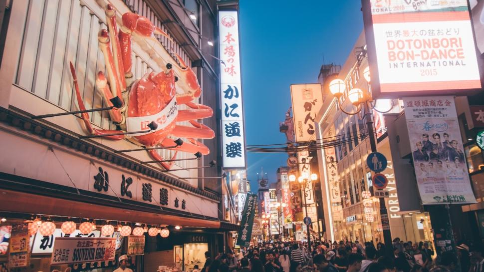 osaka-japao-dotonbori-comida-caranguejo