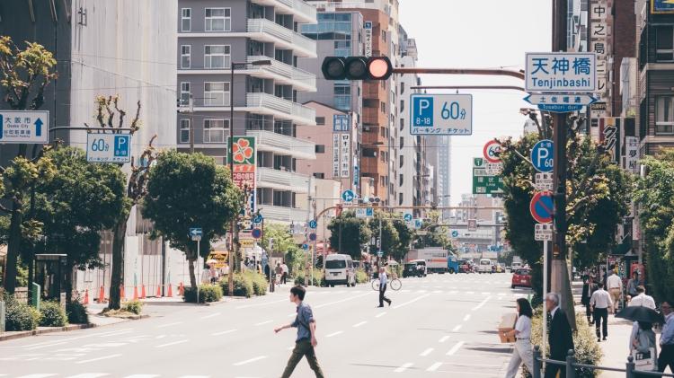 osaka-japao-rua-passadeira