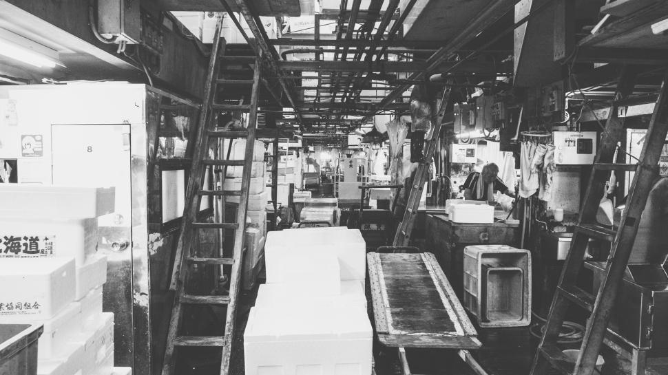 toquio-japao-tsukiji-bw